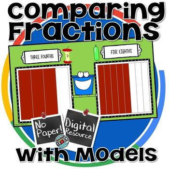 Comparing Fractions with Models GOOGLE CLASSROOM