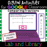 Comparing Fractions with Number Lines: Digital Activities