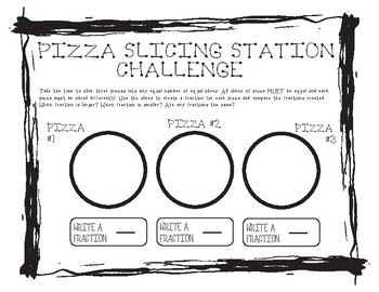 Comparing Fractions with Pizza #4