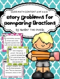 Comparing Fractions with Story Problems