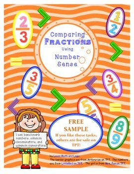 Comparing Fractions_Free Sample