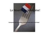 Comparing French Food to American Food Quick PowerPoint
