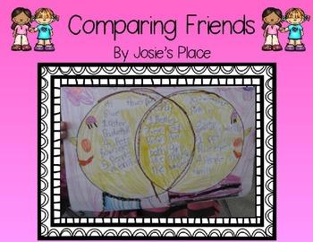 Comparing Friends FREEBIE