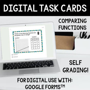 Comparing Functions (Different Ways) Task Cards