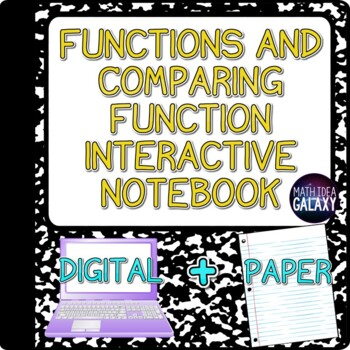 Comparing Functions Interactive Notebook