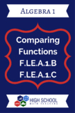 Comparing Functions Lesson Plan F.LE.A.1b F.LE.A.1c