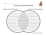 Comparing Gingerbread Stories Venn Diagram - Gingerbread Man