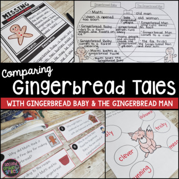 Gingerbread Baby & The Gingerbread Man (Compare and Contrast)