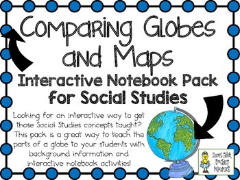Comparing Globes & Maps (Finding Locations) ~ Interactive