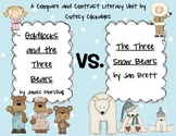 Comparing Goldilocks and the Three Bears vs. The Three Snow Bears {Common Core}