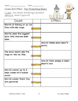 Comparing Goldilocks and the Three Bears vs. The Three Snow Bears {Common Core}