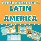 Comparing Governments of Latin America (Mexico, Cuba, & Brazil)