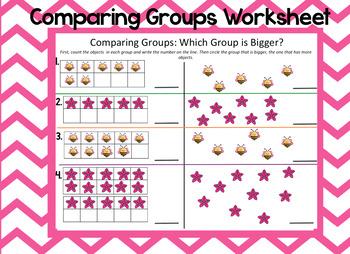 Comparing Groups Worksheet