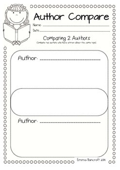 Comparing Guided Reading Worksheets