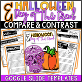 Compare and Contrast Activities -Paper & Digital {Halloween and Day of the Dead}