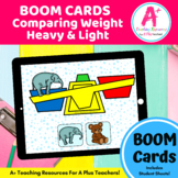 Comparing Heavy & Light BOOM Cards Distance Learning
