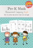Pre-K Math: Comparing Height Worksheets