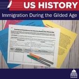Immigration during the Gilded Age