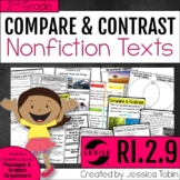 Compare and Contrast Nonfiction Passages 2nd Grade RI.2.9-