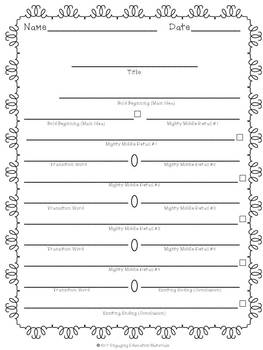 Comparing Insects Graphic Organizer & Writing Template