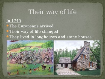 Comparing Iroquoians lifestyles in 1500 and 1745