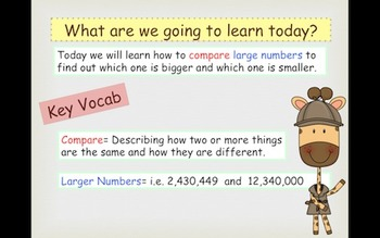 Comparing Larger Numbers