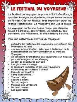 Comparing Le Festival du Voyageur and Le Carnaval de Québec French Unit