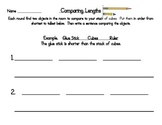 Comparing Length: Classroom Objects