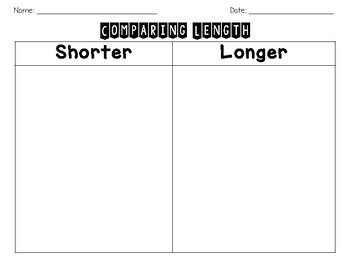 Comparing Length and Height