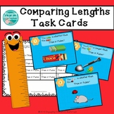 Comparing Lengths Using Longer Than or Shorter Than Task Cards