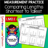 Comparing Lengths Worksheet