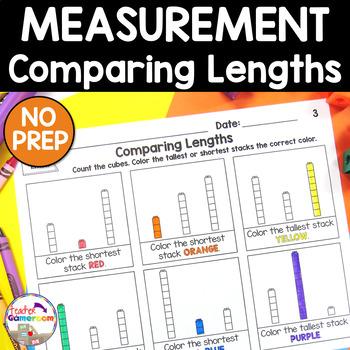 Comparing Lengths Worksheet