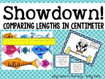 Comparing Lengths in Centimeters Small Group Activity 2.MD.A.4