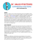 Comparing Like Denominators - Dr. Seuss