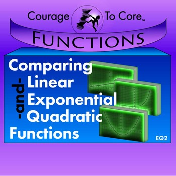 Comparing Linear, Exponential and Quadratic Functions (EQ2): HSF.LE.A.1...