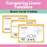 Comparing Linear Functions Boom Cards - Digital Task Cards