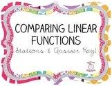Comparing Linear Functions - Stations and Answer Key