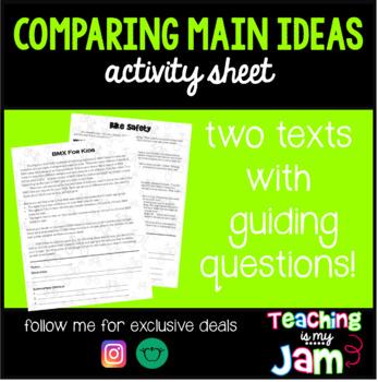 Comparing Main Ideas