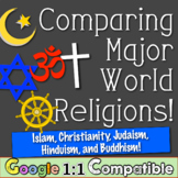 Comparing Major World Religions! Islam Christianity Judais