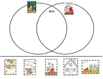 Make Way for Ducklings/House for Hermit Crab Venn