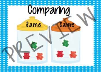 Comparing Math Cards