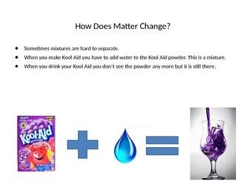 Comparing Matter