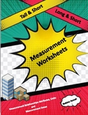 Comparing Measurement Worksheets
