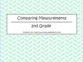 Comparing Measurements - 2nd Grade Math