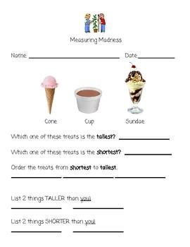 Comparing Measurements