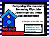 Comparing Measurements: A Centimeters and Inches Measurement Unit