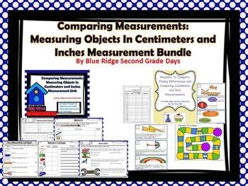 Comparing Measurements: Inches & Centimeters Bundle Lesson