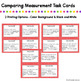 Comparing Measurements Task Cards - 2.MD.4
