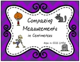 Comparing Measurements in Centimeters (2.MD.4)