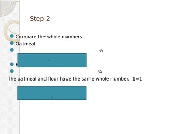 Comparing Mixed Numbers